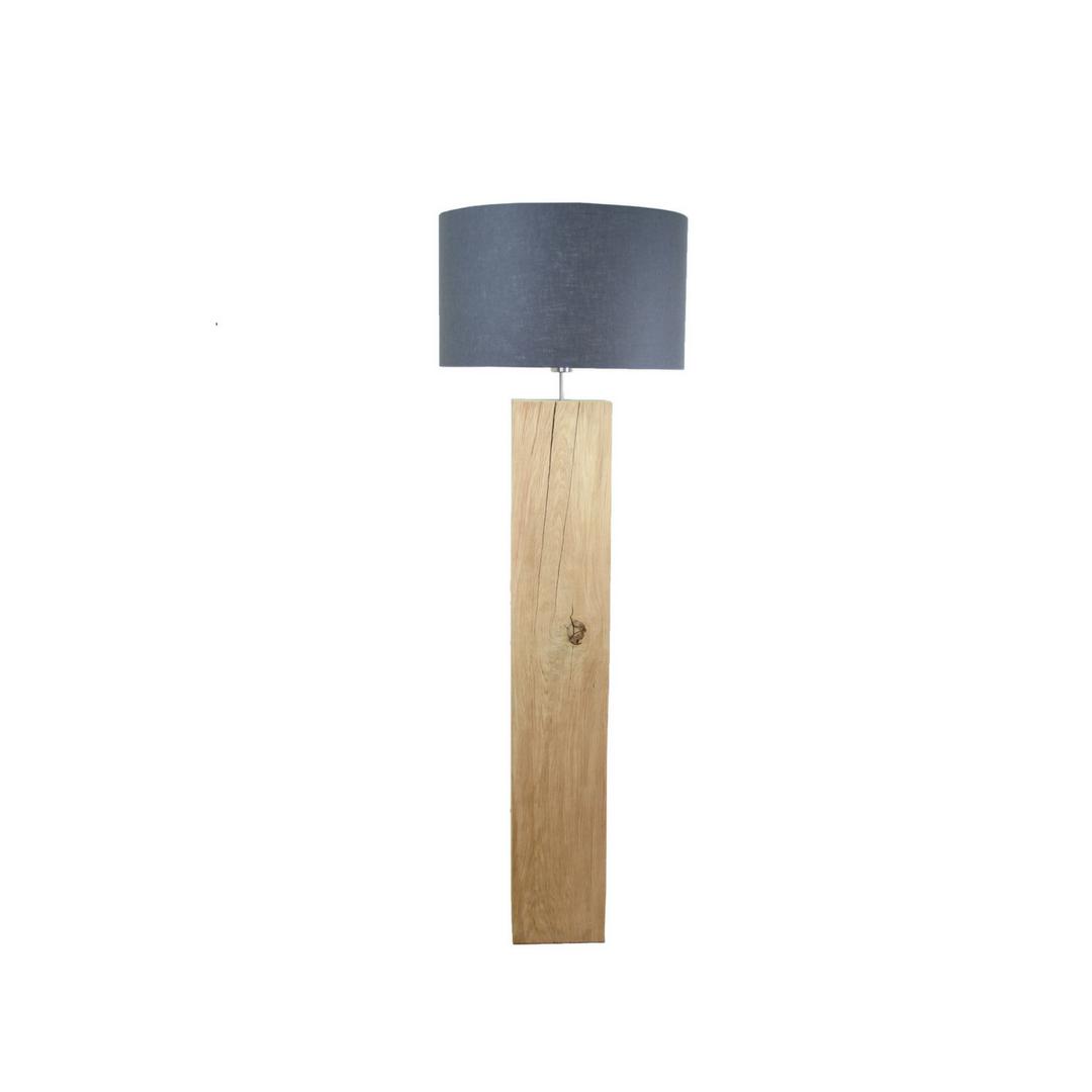 Magnifiek Massief houten vloerlamp Eiken | Sans Ambacht &SG24