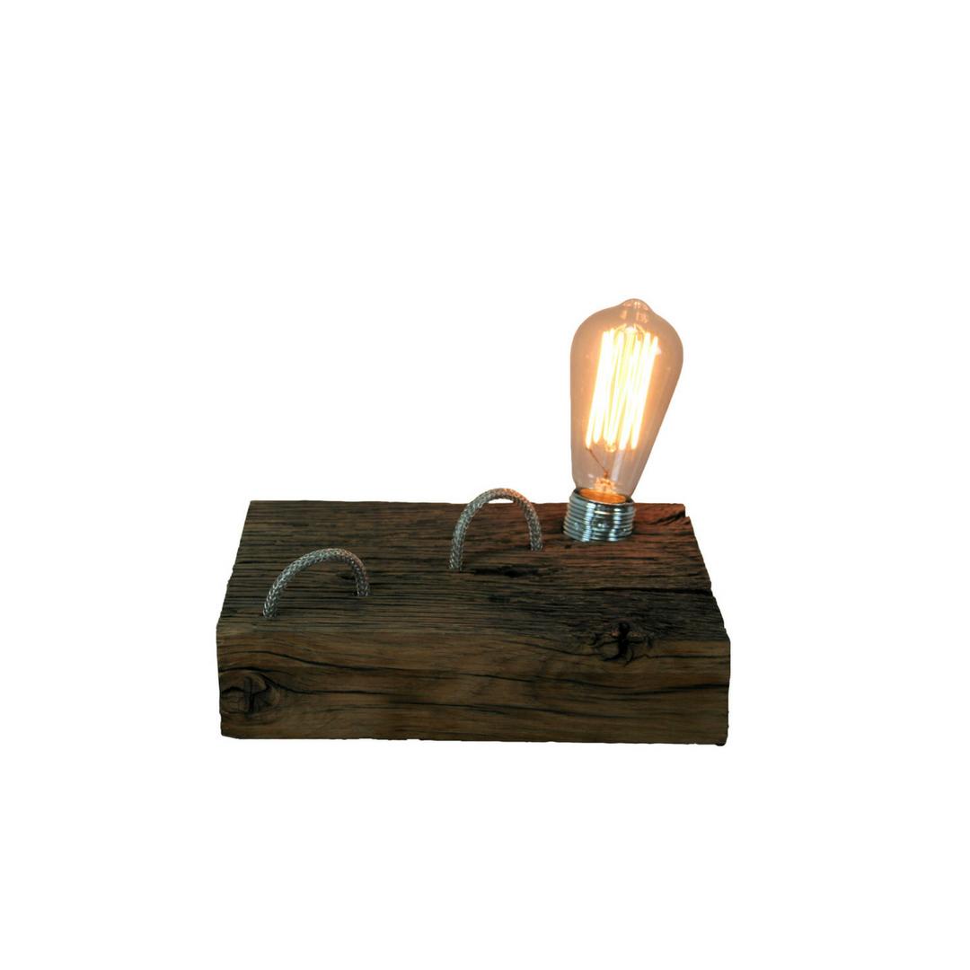 Wandplank Met Lamp.Tafellamp Plank Met Rustica Deco Lamp Sans Ambacht